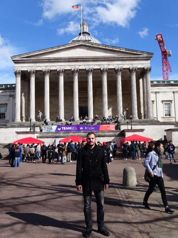 Jakov Mlinarević UCL London