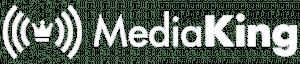 Logo Media King White